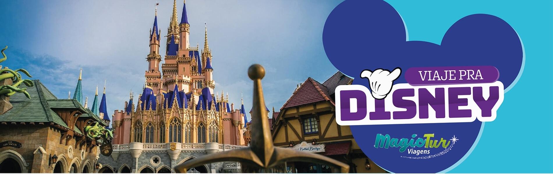 Viaje pra Disney - Disney e Universal - Magictur Viagens